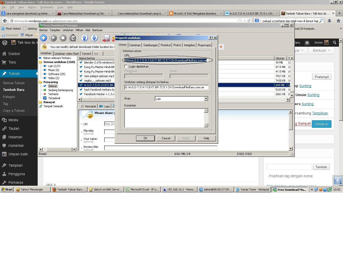 instalasi linux debian